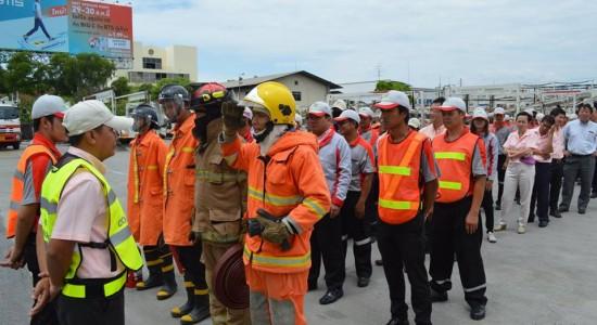 028ทีมดับเพลิงรายงานเหตุการณ์เพลิงสงบ